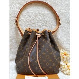 Louis Vuitton Noe Petit Shoulder Bag Monogram